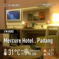 Photo taken at Mercure Hotel by Iphank A. on 6/18/2013
