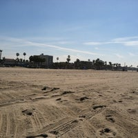 Photo taken at Santa Monica Beach Tower 29 by Matt W. on 4/3/2014