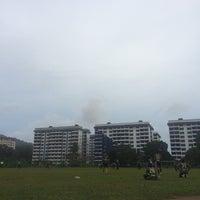 Photo taken at Padang Bola Sepak Galing Kem by Izzat M. on 12/24/2017