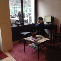 Photo taken at Timhotel Le Louvre by gungski g. on 12/23/2013