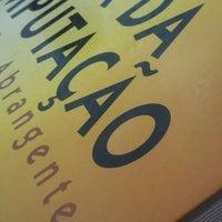 Photo taken at Biblioteca FACCAT by Priscila M. on 3/2/2016