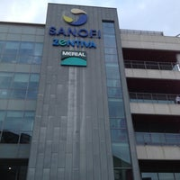 Photo taken at Sanofi | Zentiva - Sede Centrale by Deborah G. on 10/5/2012