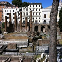 Photo taken at Largo di Torre Argentina by Nicol W. on 5/18/2013