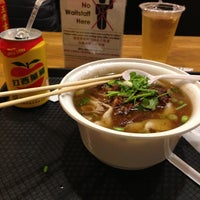 Photo taken at Xi'an Famous Foods by Allan D. on 4/11/2013