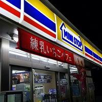 Photo taken at ミニストップ 太田下浜田店 by am o. on 4/4/2016
