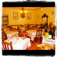 Photo taken at antica trattoria delle langhe by Cristian B. on 10/23/2012