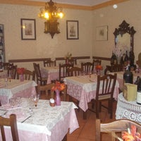 Photo taken at antica trattoria delle langhe by Cristian B. on 10/11/2012