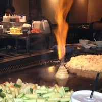 Photo taken at Wasabi Japanese Steakhouse by Vianca on 3/15/2013