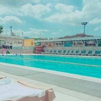 Photo taken at Asya Spor Merkezi Yüzme Havuzu by Tuğçe A. on 7/19/2016