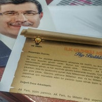 Photo taken at Ak Parti Mudanya İlçe Başkanlığı by Gizem Ç. on 2/11/2016