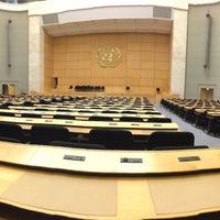 Снимок сделан в UNECE Geneva пользователем Billy B. 1/24/2013