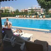Photo taken at Gölpark Swimming Pool by Tahir O. on 8/28/2017