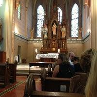 Photo taken at St. Mary's Catholic Church by Marina B. on 10/6/2012