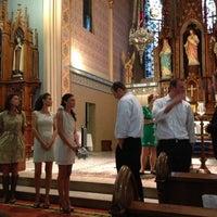 Photo taken at St. Mary's Catholic Church by Marina B. on 10/5/2012