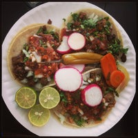 Photo taken at Los Compadres Taco Truck by Christine S. on 9/5/2013