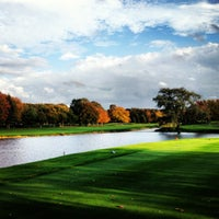 Photo taken at Alpine Country Club by Brooks F. on 10/15/2012