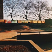 Photo taken at Seattle Center Skatepark by Andrew E. on 3/15/2014