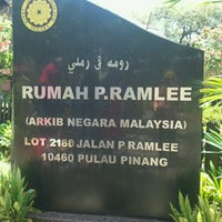 Photo taken at P. Ramlee's House by nnr e. on 6/7/2013