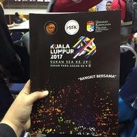 Photo taken at Dewan Gemilang UKM by Syahirah I. on 2/22/2017