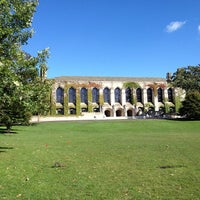 Photo taken at Deering Library by Ina Y. on 9/22/2012
