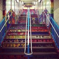 Photo taken at CTA - 18th by Ina Y. on 10/20/2013