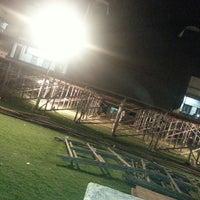 Photo taken at Lal Bahadur Shastri Stadium by ranjith b. on 2/18/2013