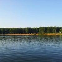 Photo taken at Зарёвское озеро by Dmitriy V. on 6/29/2013