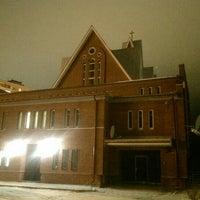 Photo taken at Католическая церковь св. арх. Михаила by Maksim M. on 11/17/2015