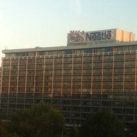 Photo taken at Sheraton Frankfurt Congress Hotel by Natash_ka on 9/20/2012