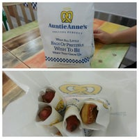 Photo taken at Auntie Anne's by JK H. on 9/29/2013