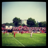 Photo taken at Südstadion by Two Beers on 7/13/2013