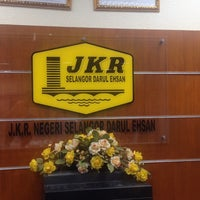 Photo taken at Bahagian Pengurusan Korporat, JKR Selangor by Jay M. on 5/28/2014