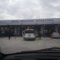 Photo taken at TÜVTÜRK Araç Muayene İstasyonu by Serkan Nuh Ö. on 12/19/2017