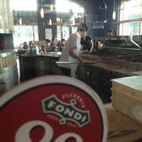 Photo taken at Pizzeria Fondi by Jeremy R. on 3/24/2013