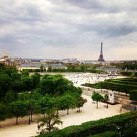 Photo taken at Tuileries Garden by Natalie S. on 4/28/2013
