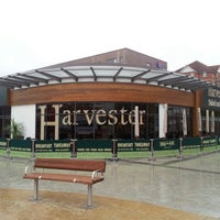 Photo taken at Harvester by Justin C. on 1/2/2013