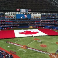 Photo taken at Rogers Centre by Georgia on 7/1/2013