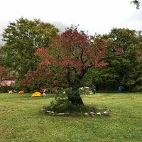 Photo taken at Tokusawa Campsite by Suizhu Q. on 10/9/2017