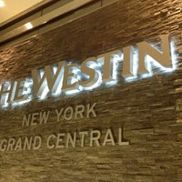 Photo taken at The Westin New York Grand Central by Doc P. on 10/8/2012