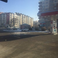 Photo taken at Zafer Petrol by Muhammet T. on 12/22/2015