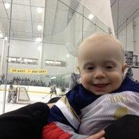 Photo taken at Dr. John J. McMullen Hockey Rink (USNA Brigade Sports Complex) by Kasandra G. on 1/26/2013