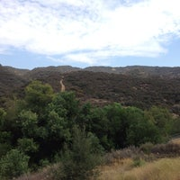 Photo taken at Caballero Canyon Trail Access by Rob H. on 7/5/2013