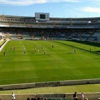 Photo taken at Estadio Manuel Martínez Valero by Nacho C. on 9/15/2012