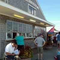 Photo taken at Mac's Seafood Wellfleet Pier by Karen D. on 8/1/2013