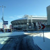 Photo taken at Amsterdam ArenA by Jeroen @. on 2/10/2013