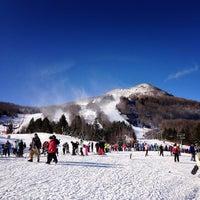 Photo taken at Hunter Mountain Ski Resort by Louis B. on 1/26/2013