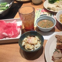 Photo taken at 旬菜創作バイキング 露菴 福山南蔵王店 by きよ は. on 2/11/2017