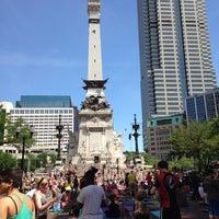 Photo taken at Monumental Yoga on the Circle by Kristi C. on 6/21/2014