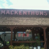 Photo taken at Mackenthuns Meats & Deli Inc by Josh H. on 9/18/2012