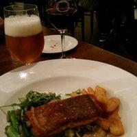 Photo taken at Bluestone Restaurant & Bar by vicbeeroclock on 6/6/2015